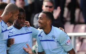 Coventry moved into positive points thanks to a brace from Callum Wilson against Colchester at Sixfields.