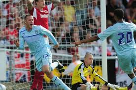Billy Daniels scored the winner to see City beat Bristol City 5-4 in the first 'home' game of the season.