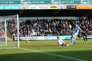 Leon Clarke Was In Inspirational Form as Coventry beat Peterborough 4-2 on Boxing Day.