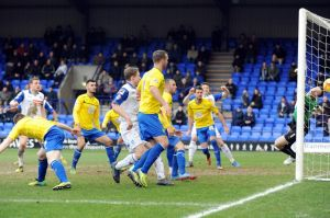 Defeat at Tranmere saw the team slip to their third defeat in a row.