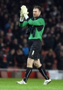 Murphy at the Emirates Stadium for the 2nd time in his Coventry career.