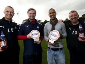 Farid El Alagui was one of Steven Pressley's succesful signings at Falkirk
