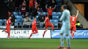 Crewe Alexandra inflicted another in a long line of disappointments for Coventry City.