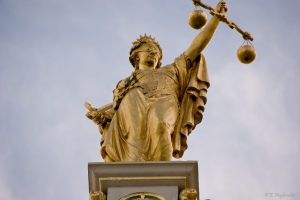 Lady Justice could decide the fate of Coventry City this summer.