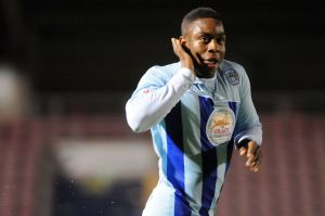 Franck Moussa's wonderful goal sent Coventry on the way to victory over Leyton Orient.