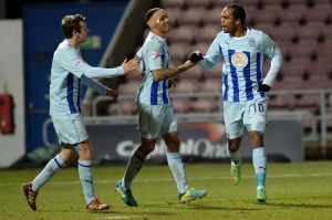 Nathan Delfouneso's winner saw Coventry win a vital mid-week fixture against Walsall.