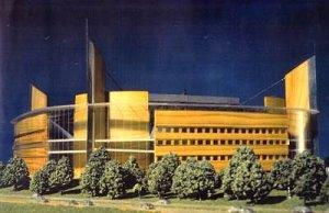 The original plans for 'Arena 2000'