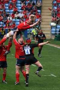 Saracens, another non-Coventry team playing at 'home' at the Ricoh Arena