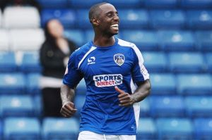 Jonathan Forte is a man in form and looking to fire Oldham into the play-offs.
