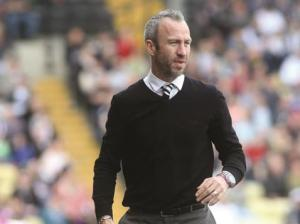 Shaun Derry has been putting the 'Autograph' collection by Marks and Spencer to good use in his revival of Notts County.