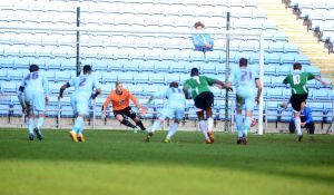The penalty which appears to have had wide-reaching recriminations at the Ricoh Arena.