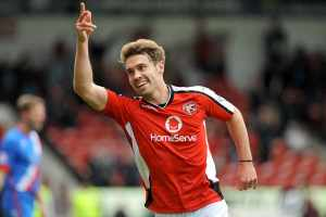 Tom Bradshaw scored 17 league goals in five years at Shrewsbury. He is now on 12 in 15 for Walsall.