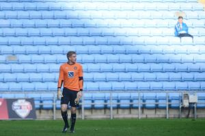 The loneliness of playing for Coventry City at the Ricoh Arena.