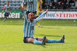 Marcus Tudgay scored the winner against Millwall as the Sky Blues kicked into life in the final weeks.