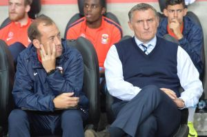 A 2-2 draw against AFC Wimbledon proved to be Tony Mowbray's final game in charge of the club.